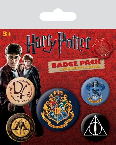 Buttons Harry Potter Hogwarts