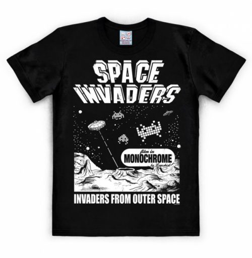 Logoshirt Space Invaders From Outer Space