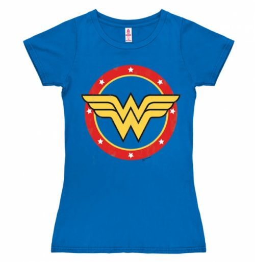 Logoshirt DC Comics Wonder Woman Logo (Girly)