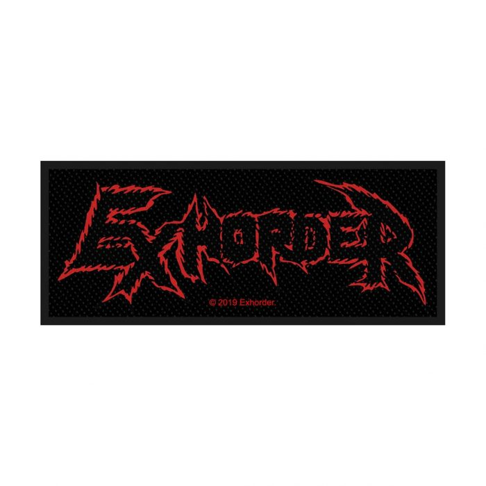 Exhorder Logo Patch