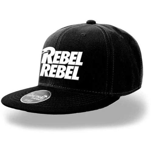 David Bowie White Rebel Rebel Snapback Cap