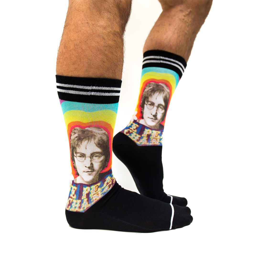 Sokken Sock My Feet Lennon