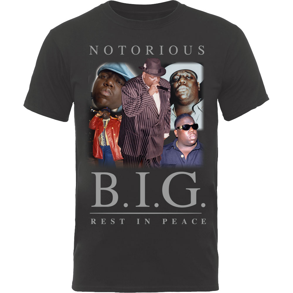 Notorios B.I.G. Rest In Peace Collage