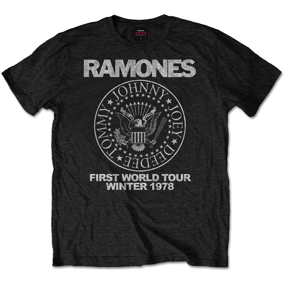 Ramones First World Tour 1978