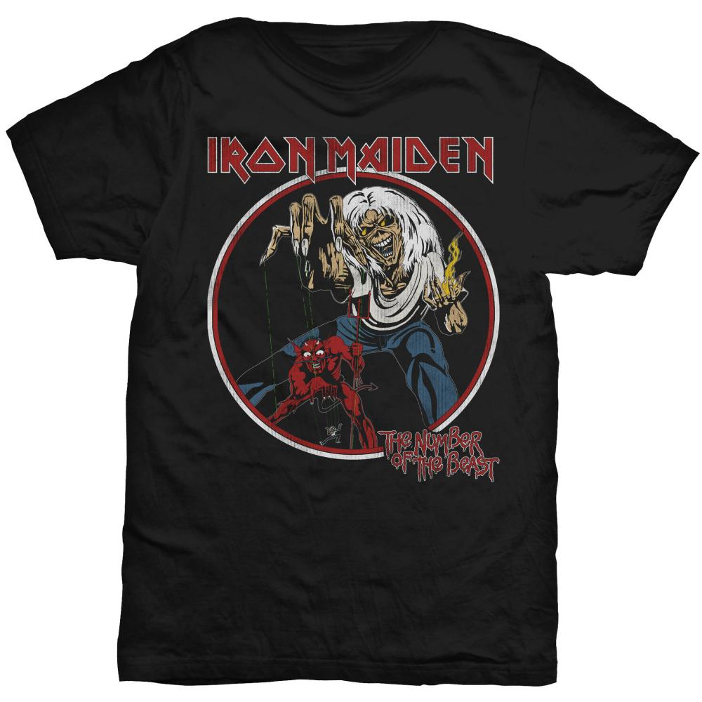 Iron Maiden Number of the Beast Vintage