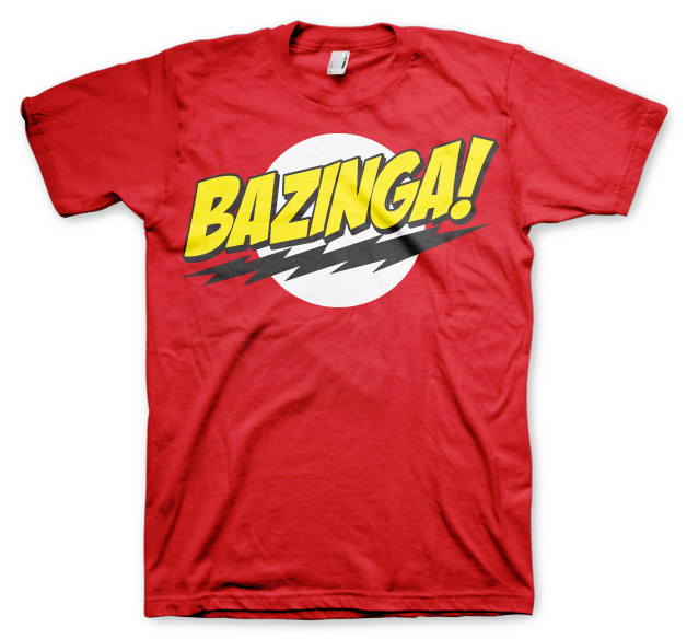 Big Bang Theory, The Bazinga Logo