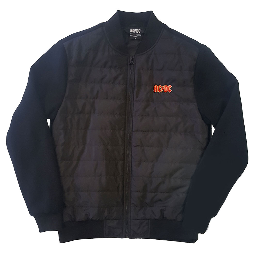 AC/DC Quilted Jacket Logo