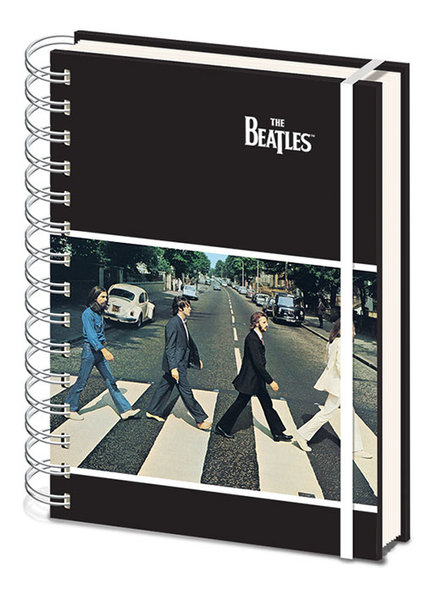 Notitieboek A5 Beatles, The Abbey Road X