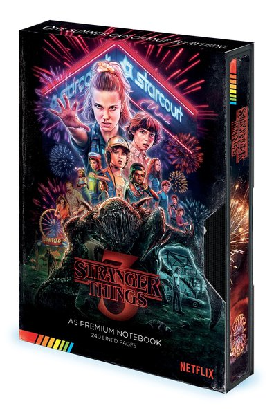 Notitieboek A5 Stranger Things Season 3 VHS X