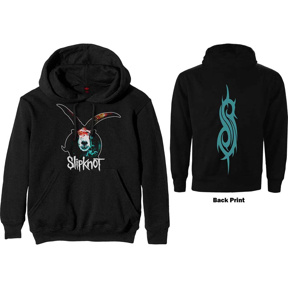 Slipknot Pullover Hoodie Graphic Goat