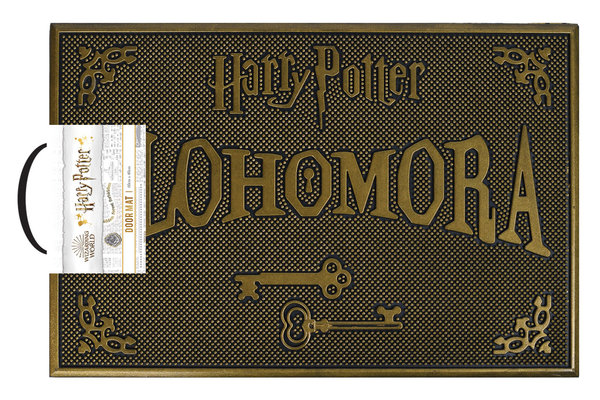 Rubber Deurmat Harry Potter Lohomora X