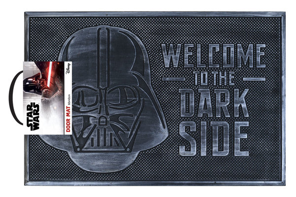 Rubber Deurmat Star Wars Welcome To The Darkside X