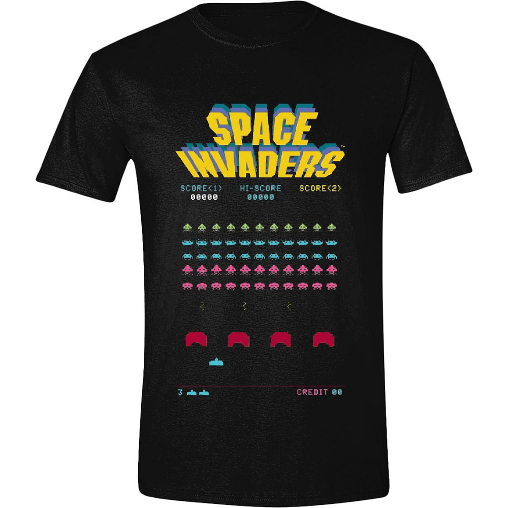 Space Invaders Game Screen