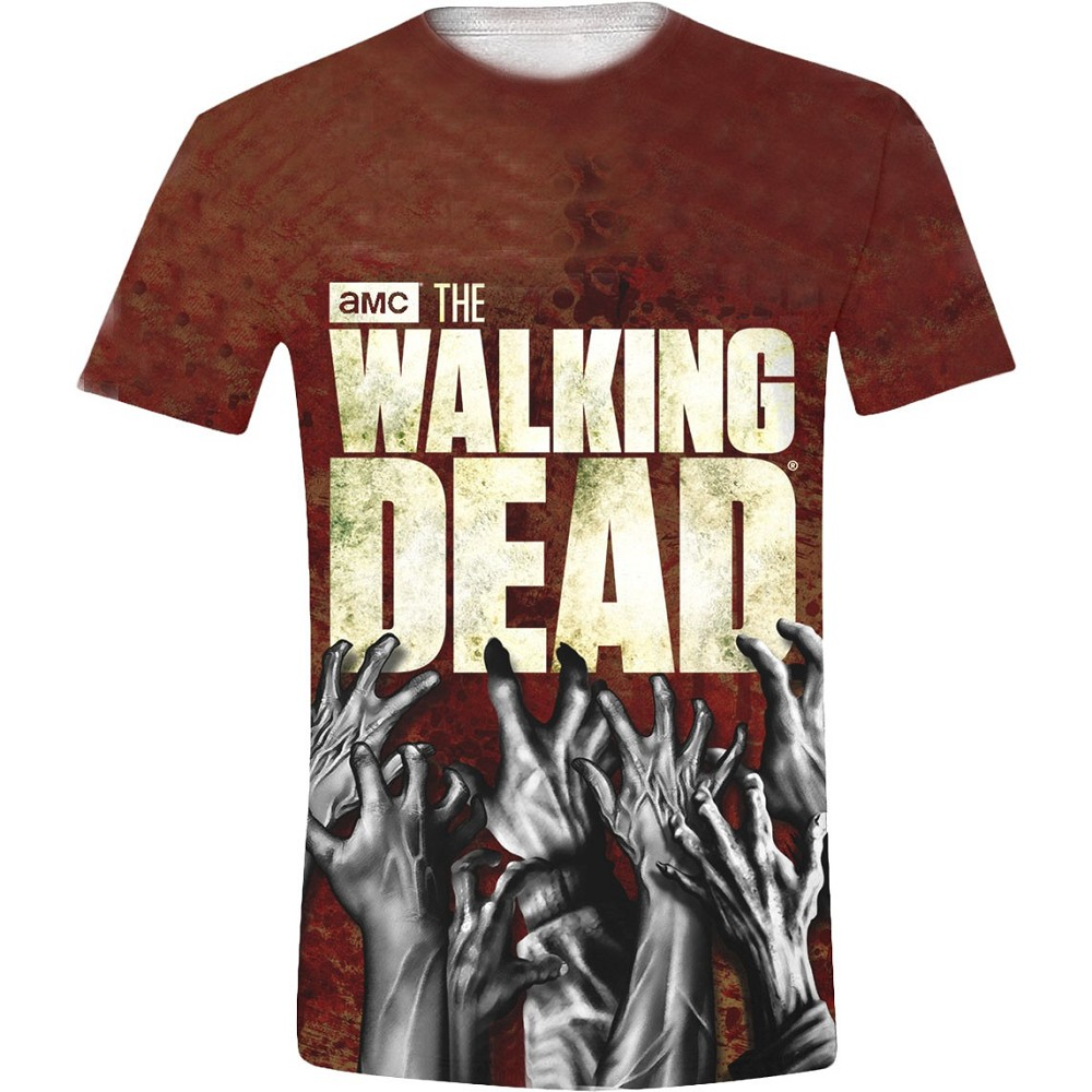 Walking Dead, The Hands Logo Full Printed