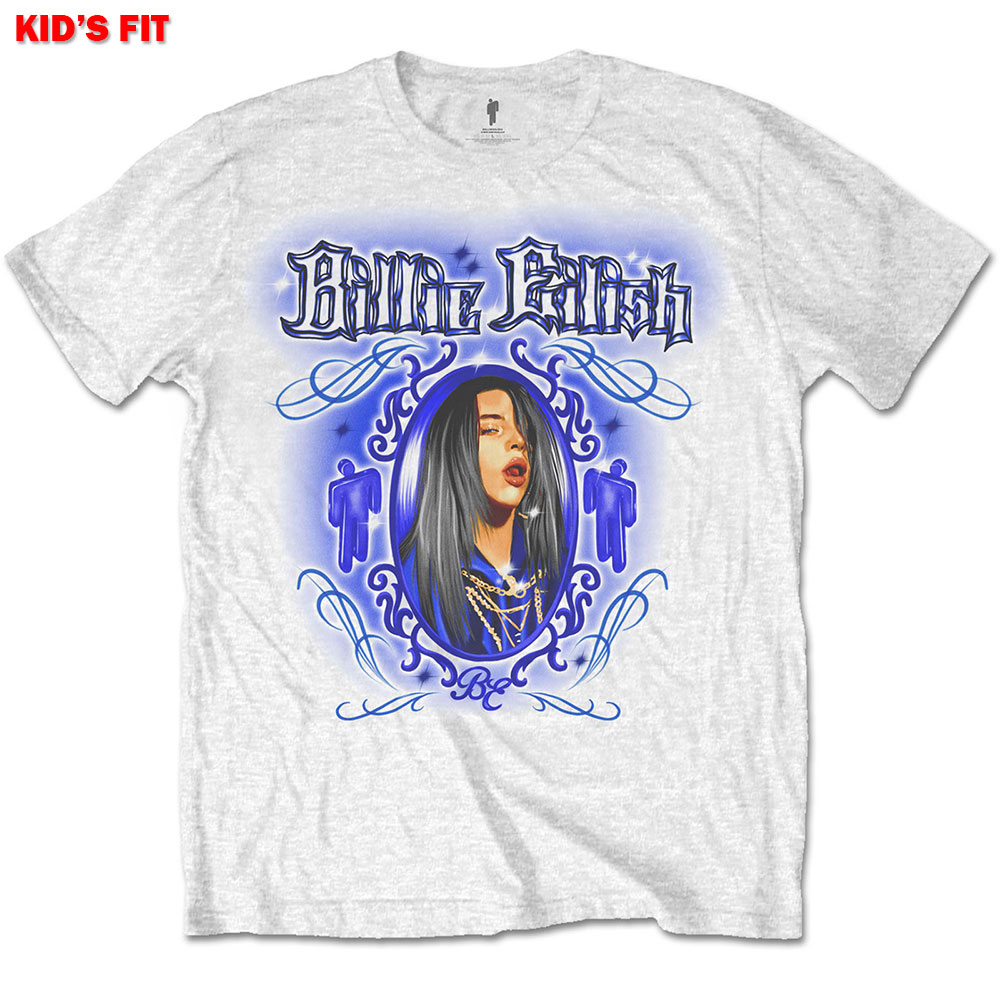 Billie Eilish Kids Tee Airbrush Photo