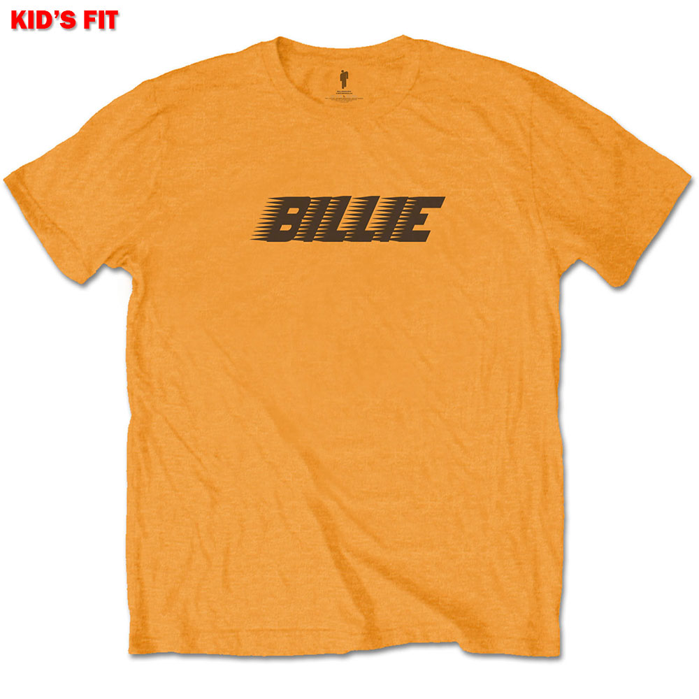 Billie Eilish Kids Tee Racer Logo & Blohsh